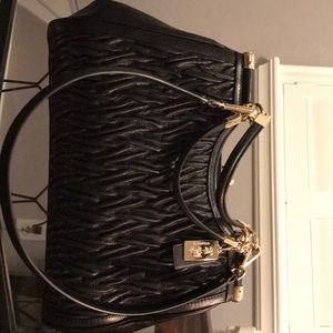 Coach purse black leather